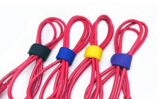hook and loop cable tie 台灣製束線帶 多色束線帶 魔鬼氈束線帶 黏扣帶 束帶